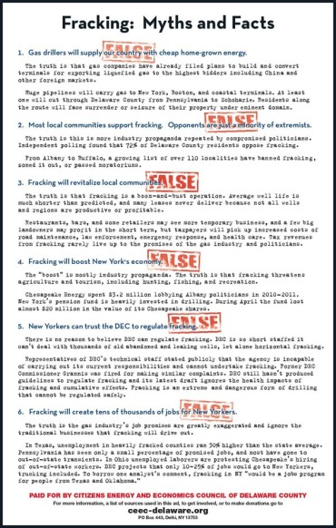 CEEC (Citizens Energy And Economics Council) Full-Page Ad, 2012