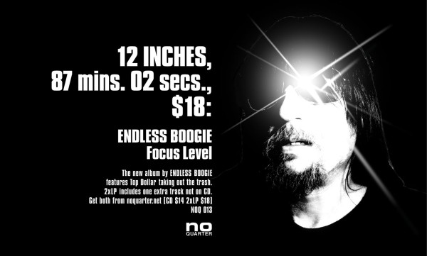 Endless Boogie, Focus Level, 2008