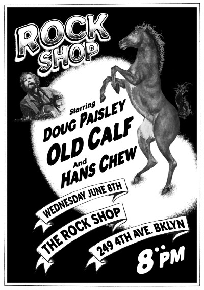 Paisley, Old Calf, Chew, Rock Shop, 2011