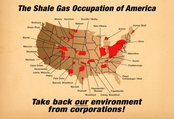 The Shale Gas Occupation, 2011
