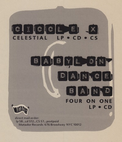 Circle X, Babylon Dance Band, 1994