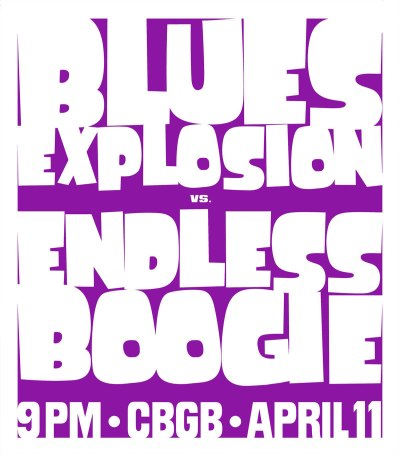 Endless Boogie, Blues Explosion, CBGB, 2005