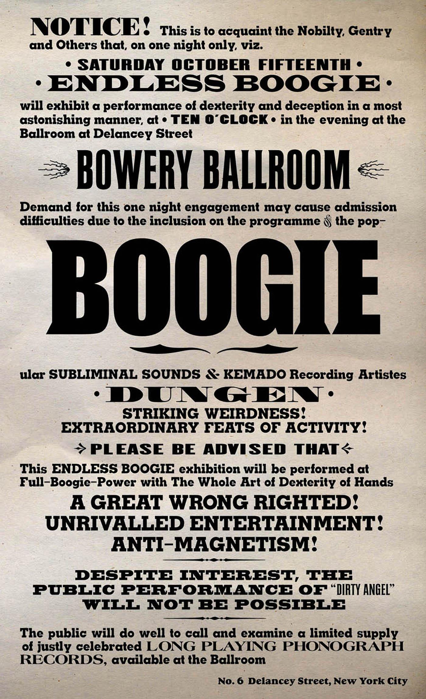 Endless Boogie - Siberia Live