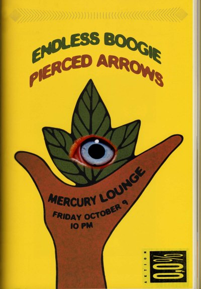 Endless Boogie, Pierced Arrows, Mercury Lounge, 2009
