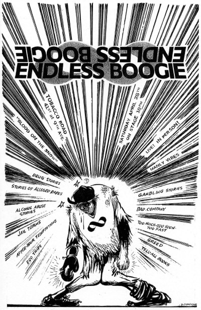 Endless Boogie, Tobacco Road, 2002