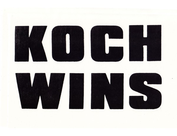 Koch Wins You Lose 2, 1989
