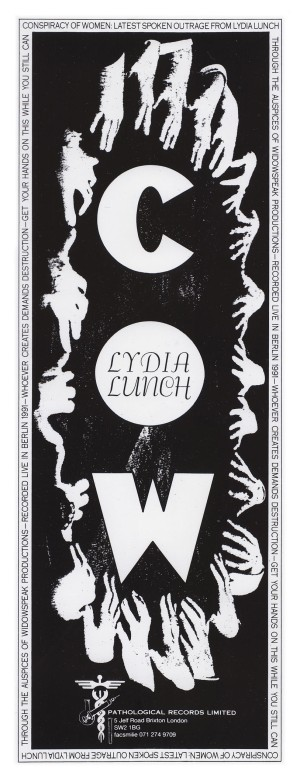 Lydia Lunch, Conspiracy of Women, 1991