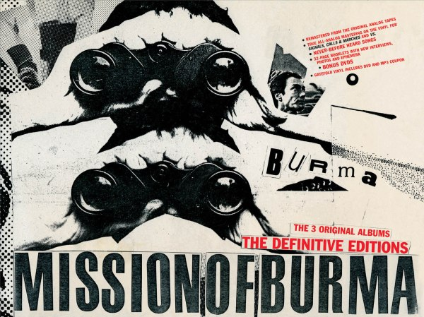 Mission Of Burma, The Definitive Editions, 2008