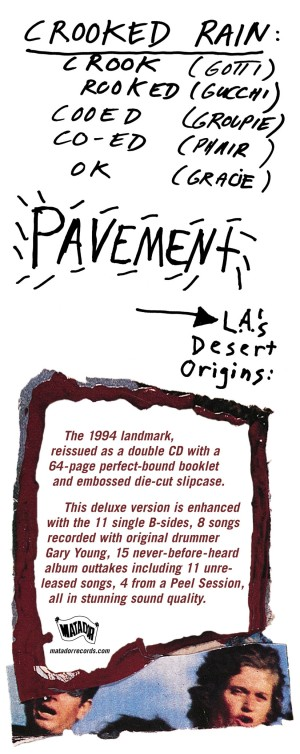 Pavement, Crooked Rain, Crooked Rain, L.A.s Desert Origins, 2004