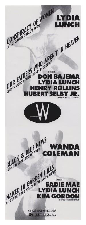 Widowspeak Productions, 1991
