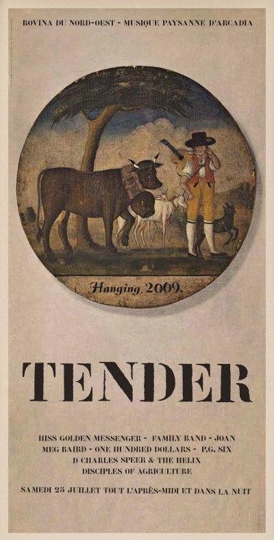 Hanging Tender, Bovina NY, 2009