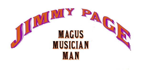 Jimmy Page, Magus Musician Man, Book Jacket, 2006