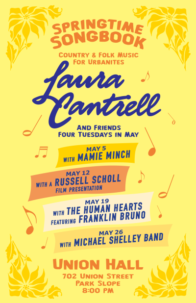 Laura Cantrell and Friends, Union Hall, NY, 2015