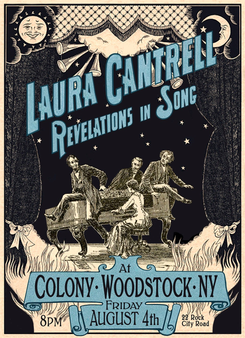 Laura Cantrell, Colony, Poster, 2017